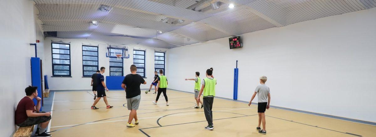 Zdjęcie sali gimnastycznej